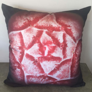 Pink Protea Bud Cushion
