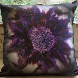 Purple Regal Protea Cushion